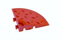Угловой элемент обрамления, цвет Красный