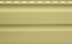 Панель виниловая Альта-Сайдинг лимонная, 3,66м