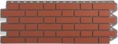 Фасадная панель Кирпич Клинкерный (красный)
